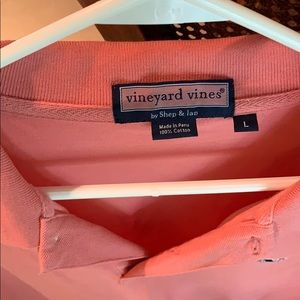 Vineyard Vines Shirts - Vineyard vines salmon polo shirt